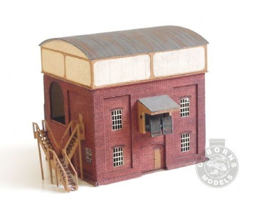 ARCHN0011 Arch Laser : GWR Coaling Stage Kit N Gauge